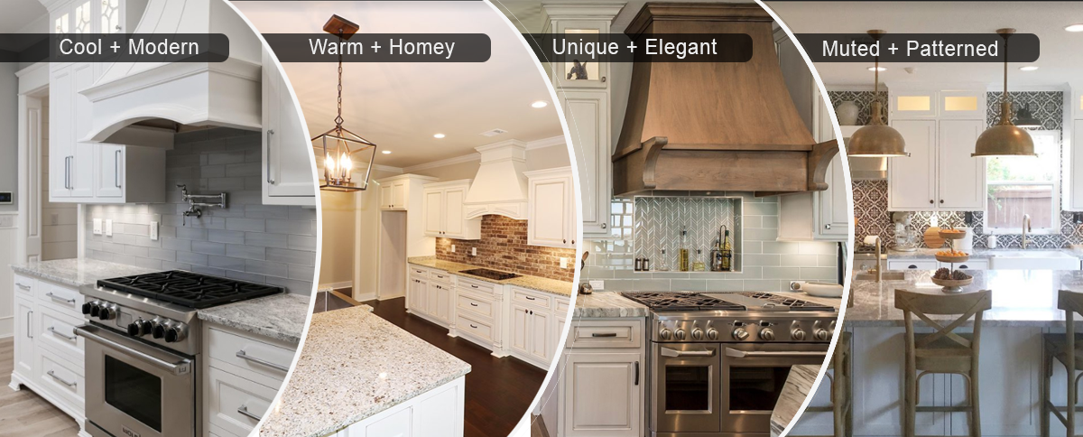 Granite uses in kitchen countertops, bathroom vanities, mini bar countertops, and desk nooks